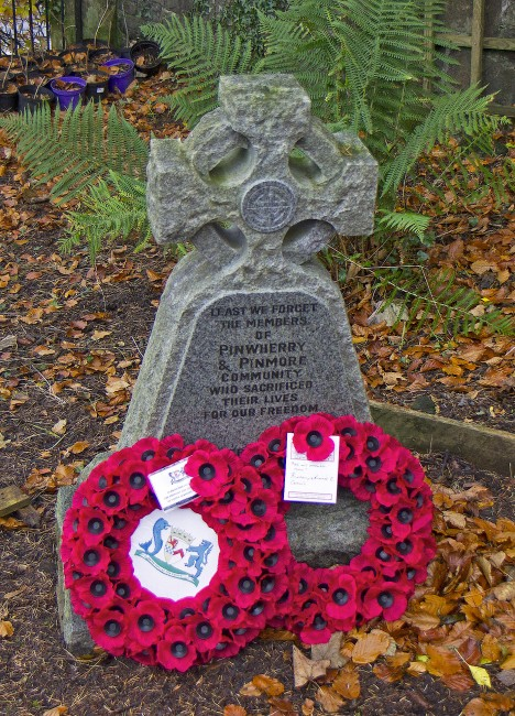 Pinwherry Remembrance Day 2012