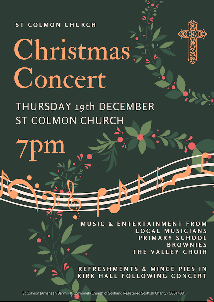 Christmas Concert – 19th Dec