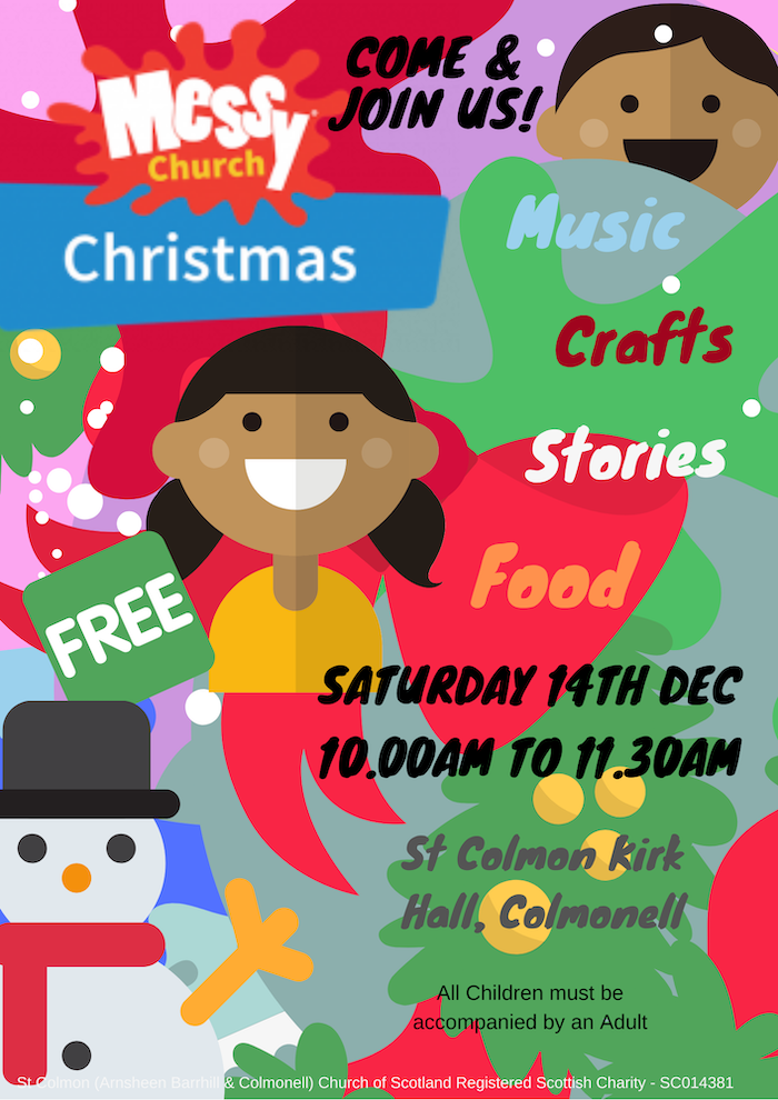 Christmas Messy Church – 14th Dec