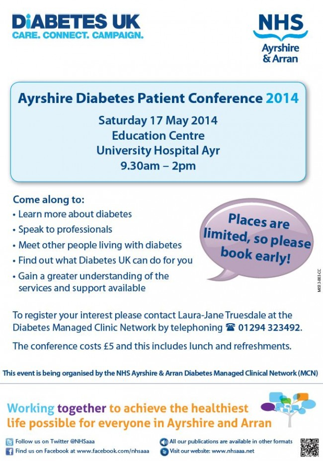 Diabetes conference May 2014