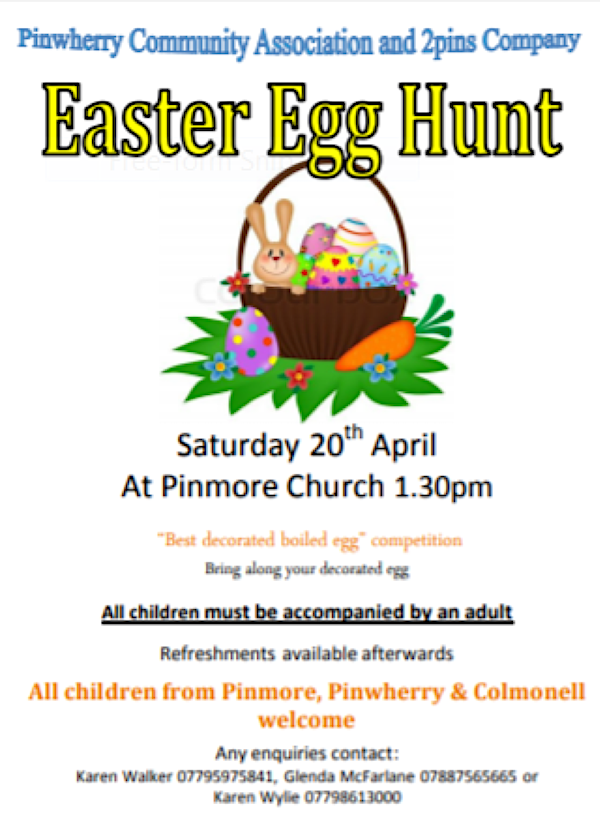Easter Egg Hunt – 20th April 2019