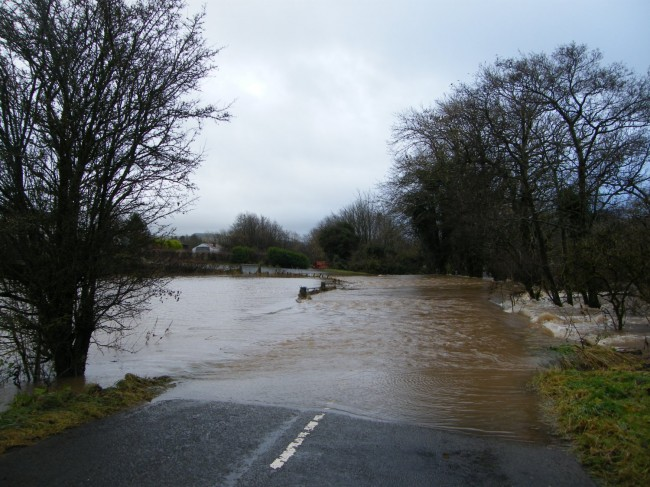 Flooded River Stinchar