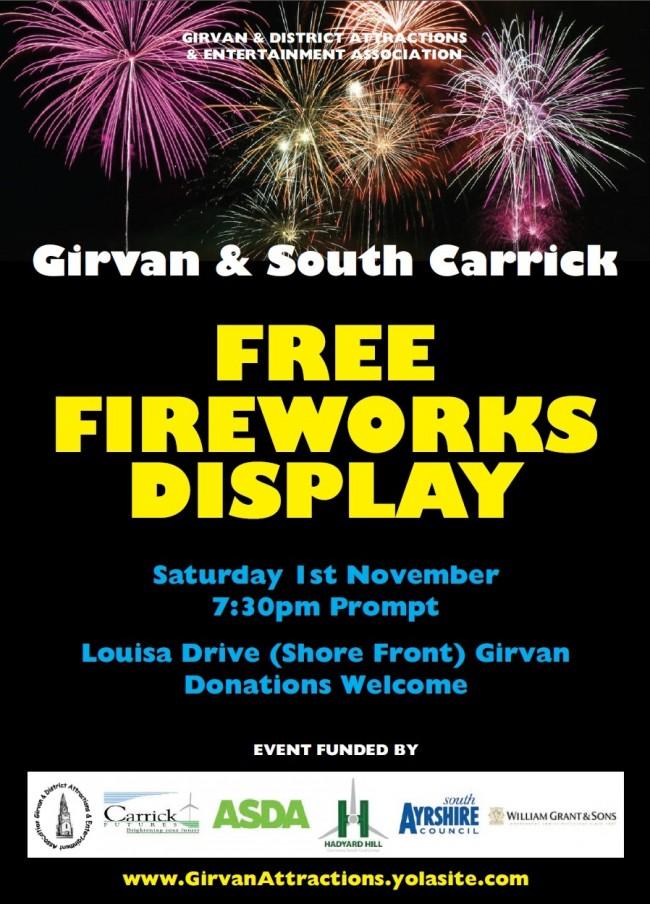 Girvanfireworks2014
