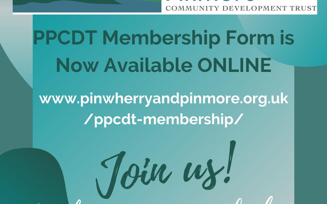 PPCDT Membership Form NOW ONLINE!
