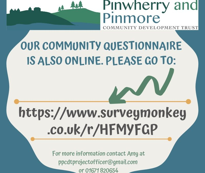 Pinwherry and Pinmore CDT Community Questionnaire
