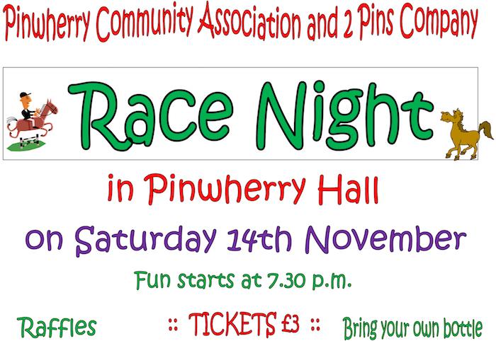 Race night Nov 2015